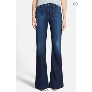 7FAMK 'Ginger' High Rise Flare Jeans